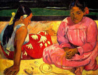 Two Women on the Beach, 1891