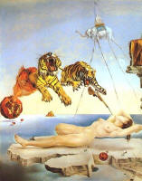 Dream Caused by the Flight of a Bumblebee around a Pomegranate a Second Before Awakening